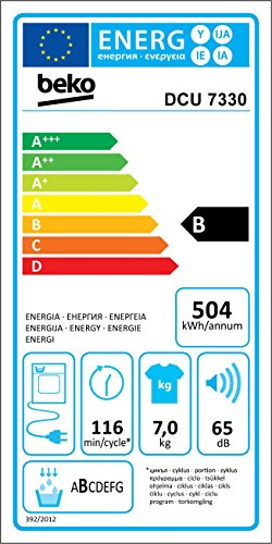 Kondenstrockner Beko DCU 7330 - 2