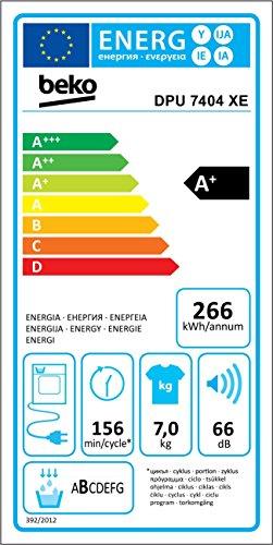 Wärmepumpentrockner Beko DPU 7404 XE - 2