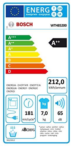 Wärmepumpentrockner Bosch WTH85200 - 7
