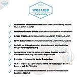 4 x Trocknerball – Bälle aus 100% Wolle zur Nutzung im Trockner, für schnelleres Trocknen und weichere Wäsche. Zeit und Kosten sparen durch Trocknerbälle für jede Wäsche, Decke, Kissen, Kopfkissen oder Daunen im Wäschetrockner. Trocknerkugeln für Wäschetrockner. - 5