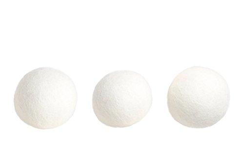 Premium 6er Pack Trockner-Bälle aus neuseeländischer Schafwolle – Hypoallergene Trockner-Kugeln als natürlicher Weichspüler - 7