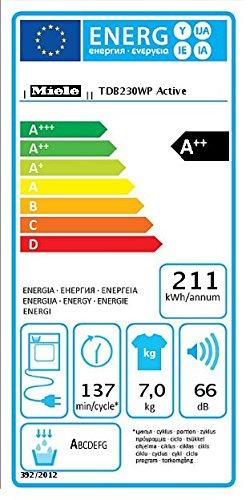 Miele TDB 230 WP Active Wärmepumpentrockner - 6