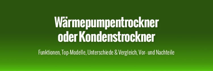 w rmepumpentrockner oder kondenstrockner w rmepumpentrockner. Black Bedroom Furniture Sets. Home Design Ideas