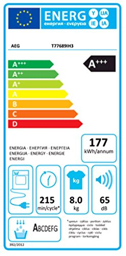 AEG T77689IH3 Wäschetrockner / 8 kg -