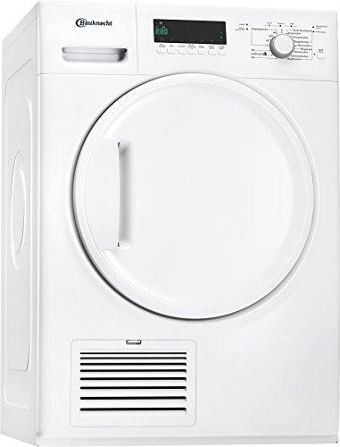 Bauknecht TK Plus 7A3BW Wärmepumpentrockner / 7 kg / Startzeitvorwahl Weiß / Verbesserter Knitterschutz / Supersanft- Programm für sehr empfindliche Textilien -