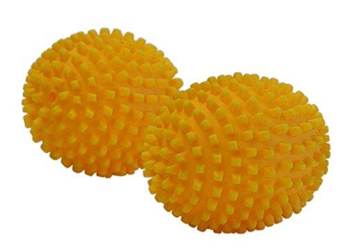 4 Stück (2x 2er Set) purclean Trocknerbälle, flauschige Wäsche und ökologisch Weichspüler sparen -
