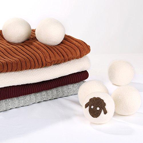 ecooe 6 x trocknerb lle aus 100 nat rlicher. Black Bedroom Furniture Sets. Home Design Ideas