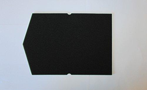 Filter für Miele Schwammfilter 6057930 Wärmepumpentrockner Filter Trockner Kondenstrokner Filterschaum Schaumstoff Sockelfilter -