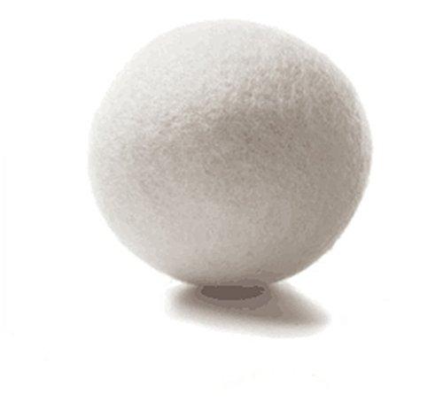 LnLyin Wolle Trocknerbälle Wiederverwendbar Natürliches Gewebe Weichmacher Gesundes Wäscheleben -