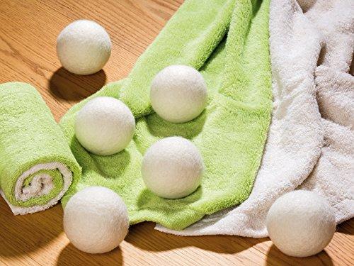 Trocknerbälle xxl für wäschetrockner extragroße filzbälle der