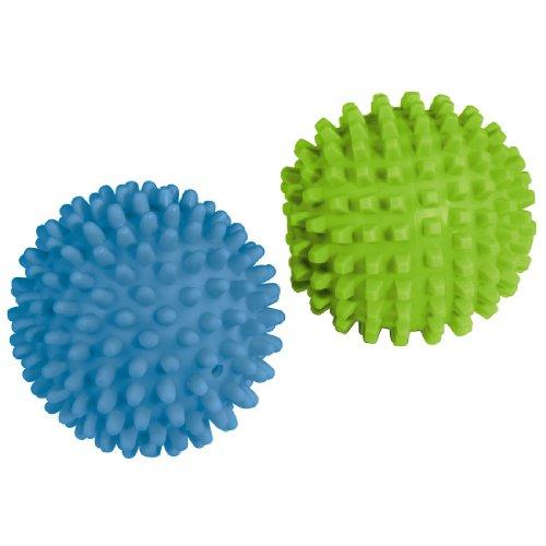 Xavax Temperaturbeständige Trocknerbälle, 2 Stück, blau/ grün -